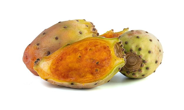 Prickly pears and one cut in half