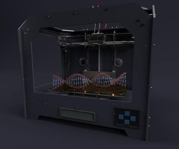 Printing human dna