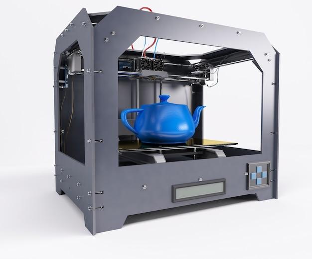 Printing a teapot