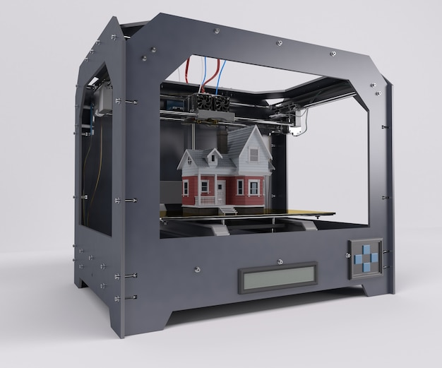 Printing a victorian house