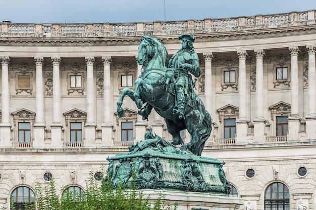Prinz eugen statue in vienna