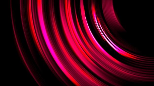 Prism light flares overlay on black blurred background