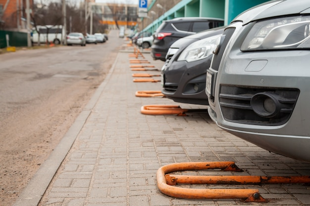 Private car parking. private car parking space