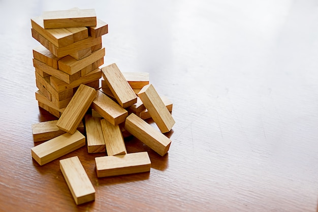 Problem solving business can't stop effect of dominoes continuous