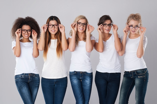 Problems with eyesight may not be unpleasant