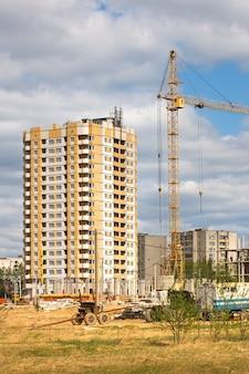 주거 지역 건설 과정