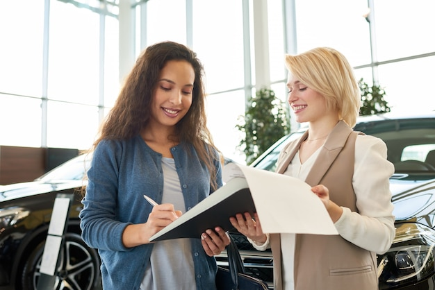 Process of renting car