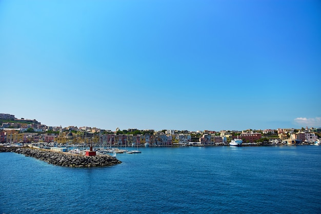 Procida 섬, 나폴리, 이탈리아