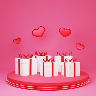 Product shaped gift box in the studio