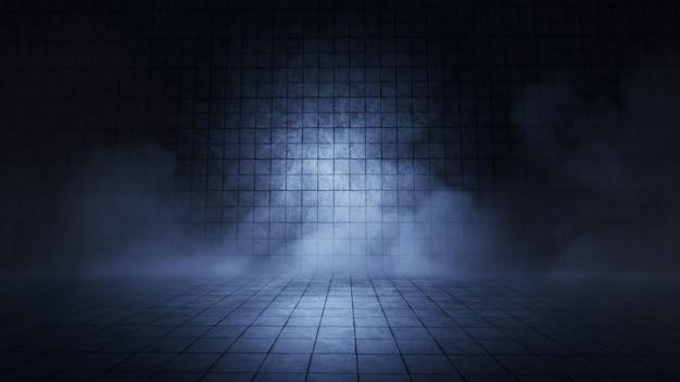 제품 쇼케이스 스포트라이트 배경 3d 렌더링