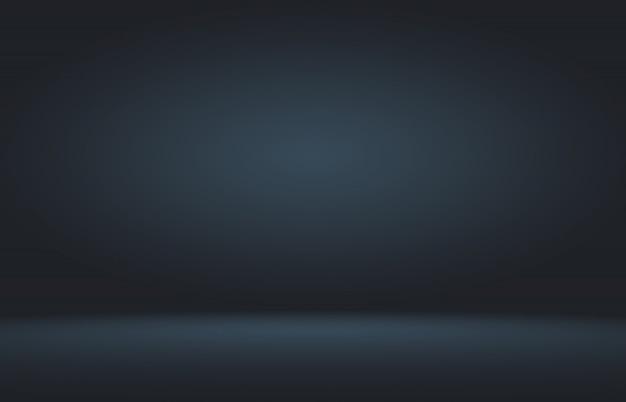 产品展示在黑梯度背景的聚光灯。