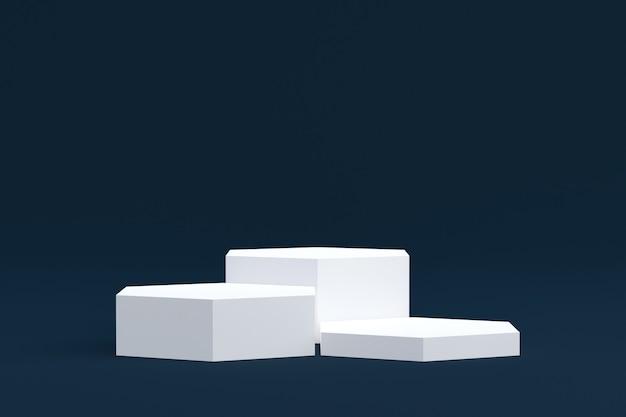 Стенд продукта, podium minimal на темном фоне для презентации косметической продукции.