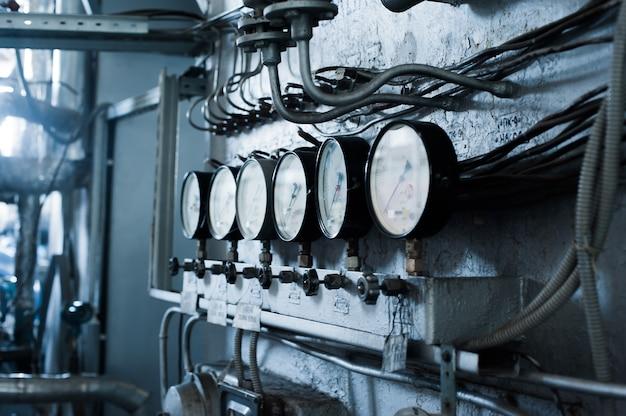 화학 및 제약 산업의 생산 설비