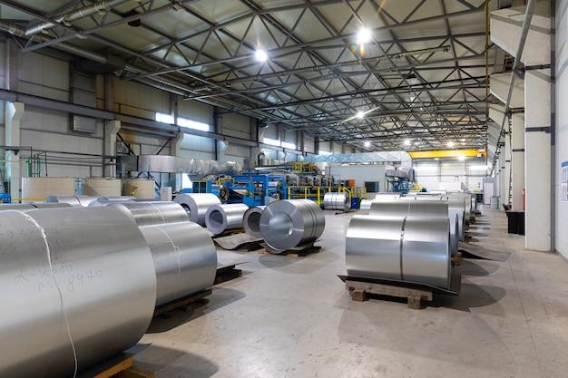 제조 배경에서 생산 산업 장비