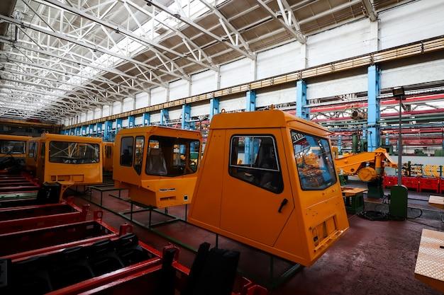 Линия по производству крупногабаритной техники на заводе