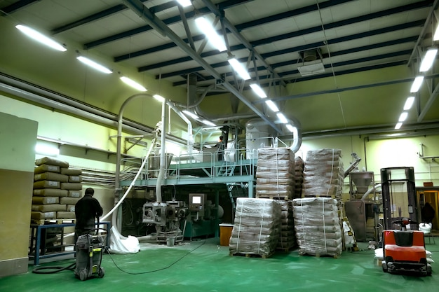 Production of potato starch
