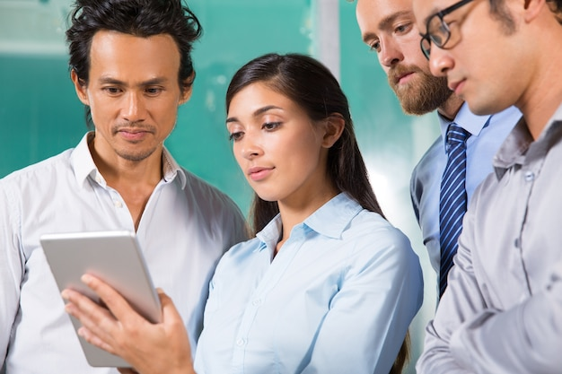 Profession analyzing professional four technology
