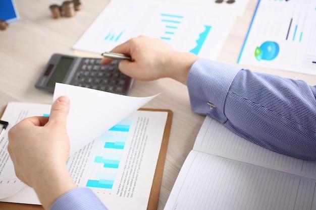 専門的な会計財務予算の概念