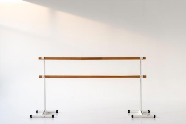 Professional ballet studio handrail