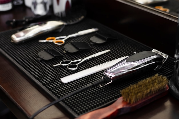 Professional barber shop essentials