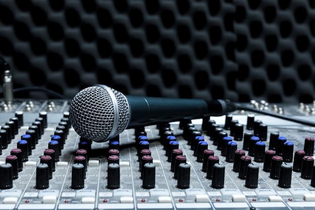 Professional condenser studio microphone,
