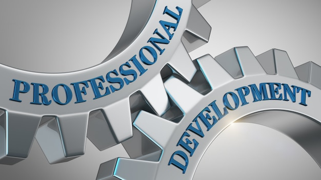 Professional development concept