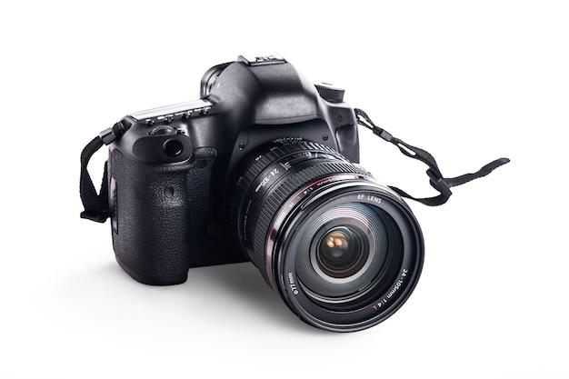 プロのデジタルカメラ、写真機材