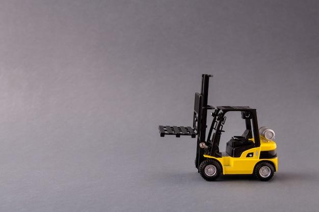 Professional electric loader vehicle deliver service