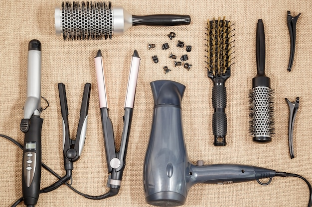 Professional equipment hairdressing
