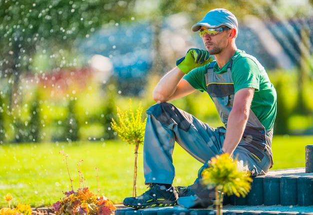 Professional garden designer