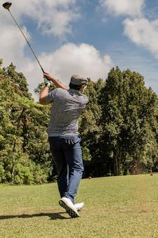Professional golfer. bali. indonesia.