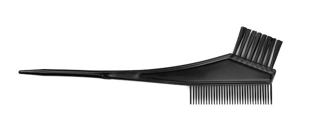 Профессиональная кисть для окрашивания волос, изолированные на белом фоне