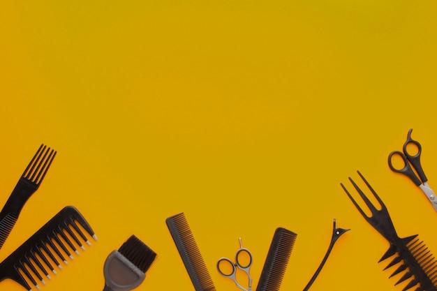 Профессиональные парикмахерские инструменты копирование пространства