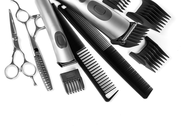 Professional hairdressing tools