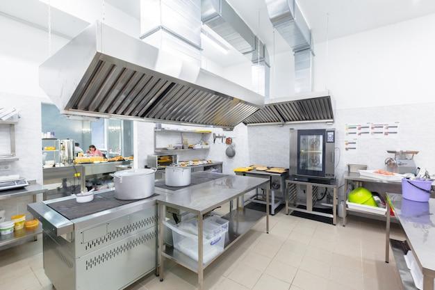Professional kitchen