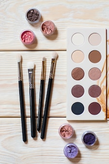 Professional makeup artist's set