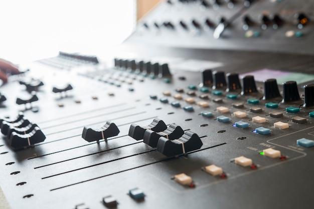 Professional music mixer