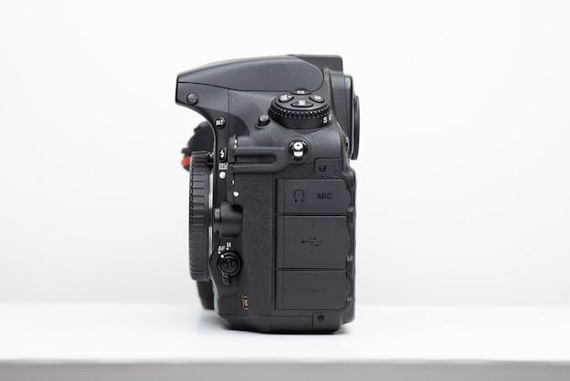 Professional photo camera dslr mirror