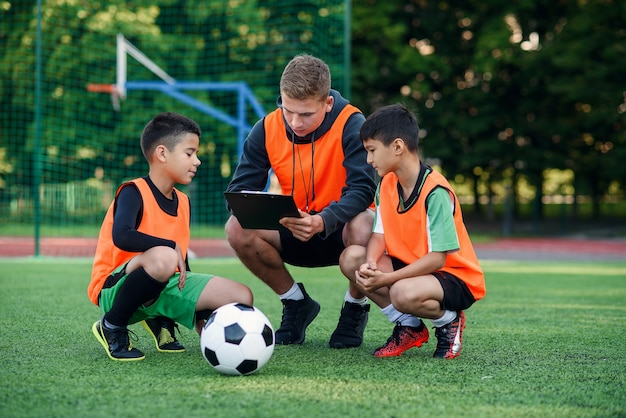 Professional soccer coach tells the strategy of game
