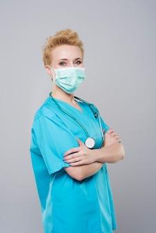 保護マスクの専門外科医