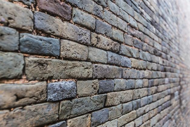 Profilo muro di mattoni