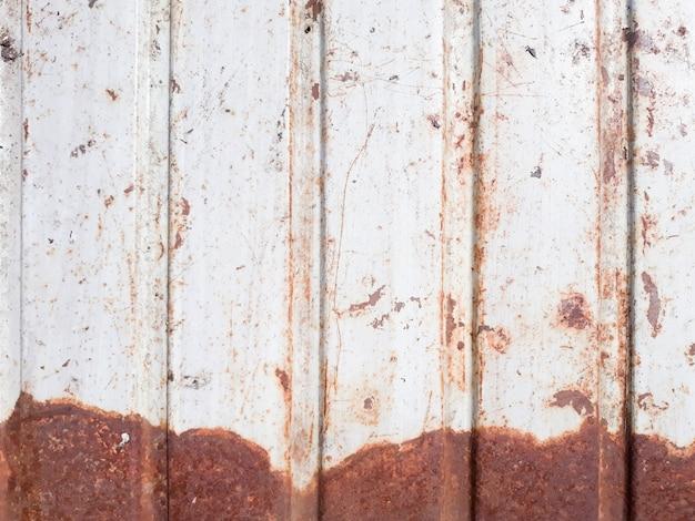 Profiled metal sheet background.