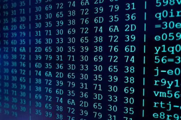 Pc画面のプログラムコード