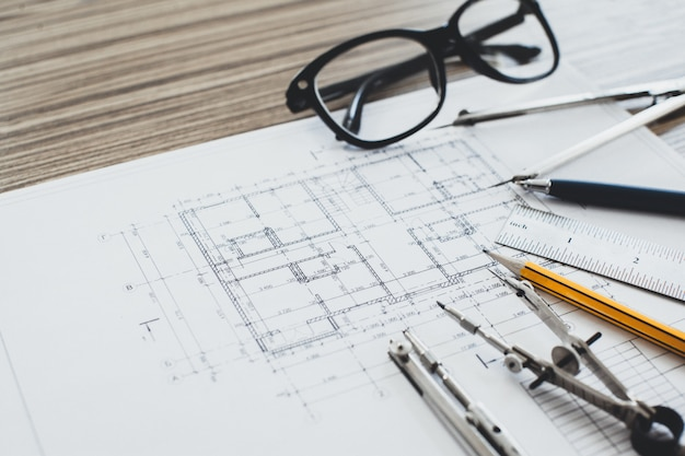 プロジェクトの図面とツール