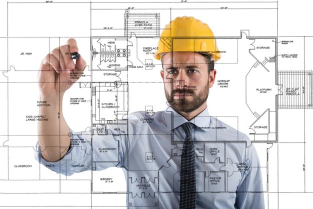 Проект строительства интерьеров здания