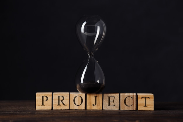 Project timeline countdown, launch business or start up company