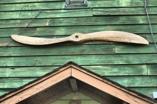 Propeller over door