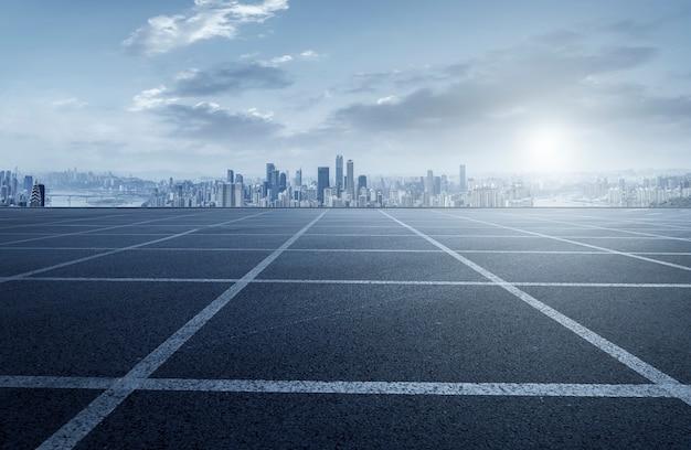 Prospects for expressway, asphalt pavement, city building commer