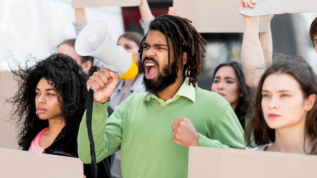 Протест за ваши права имеет значение для черных жизней