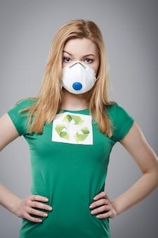 大気汚染から世界を守る 無料写真